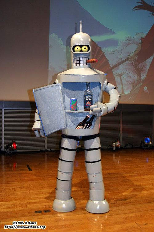 """Bender (""""Futurama""""). Brownie points for the Slurm can!"""