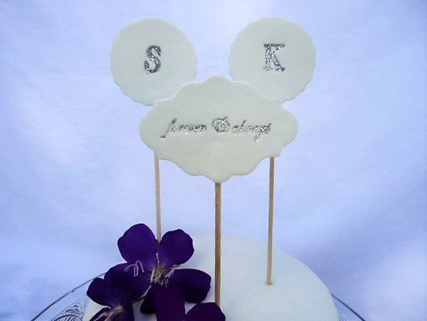Wedding Cake Toppers forever & always by MYMIMISTAR on Etsy