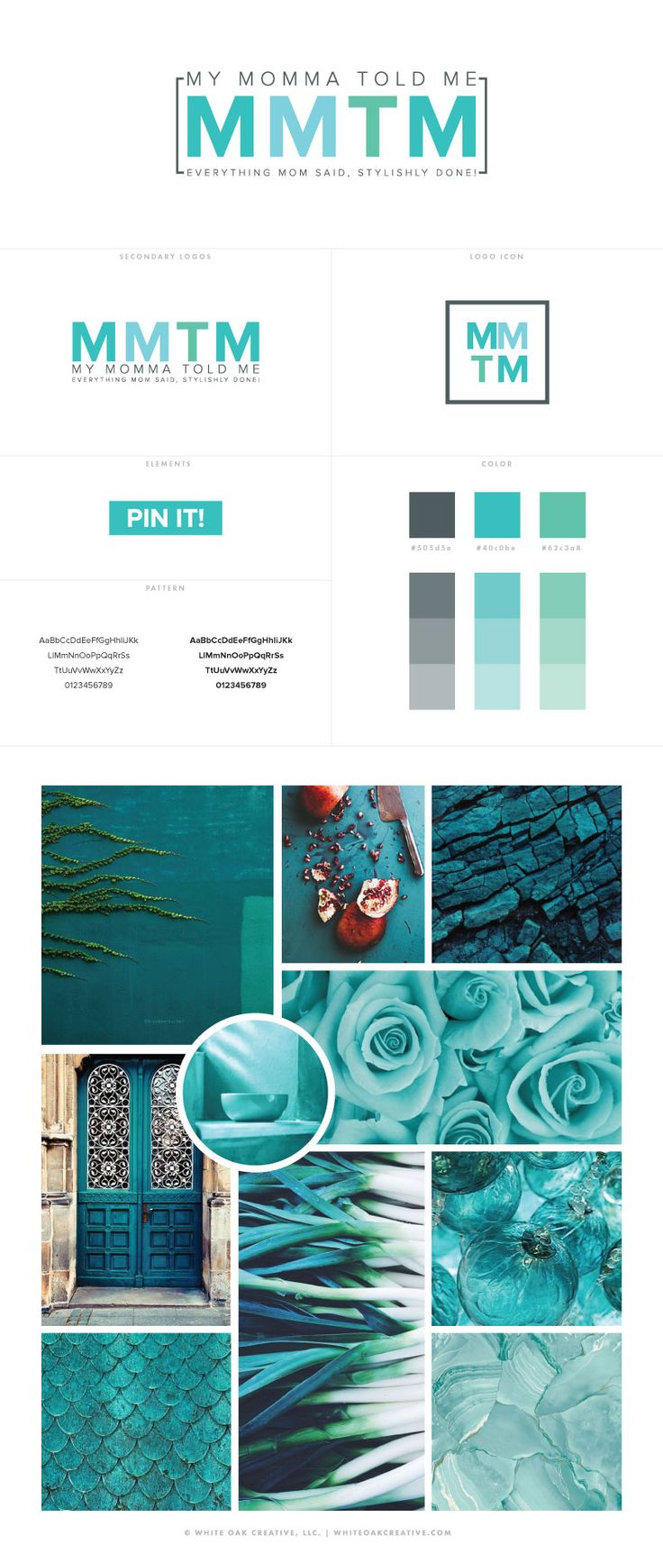 My Moma Told Me WordPress Blog Design by White Oak Creative