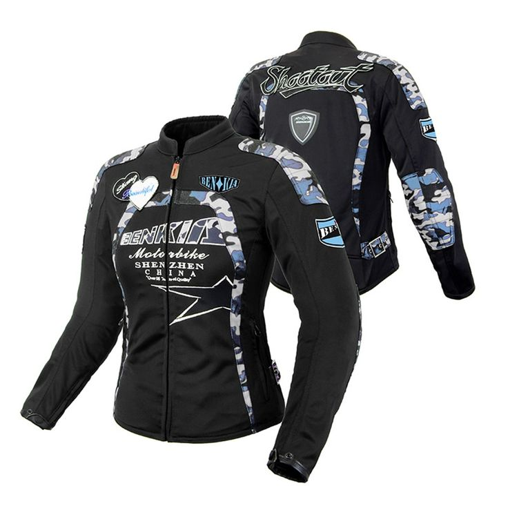 BENKIA <b>Motorcycle Jacket</b> Camouflage Jaqueta Motoqueiro ...