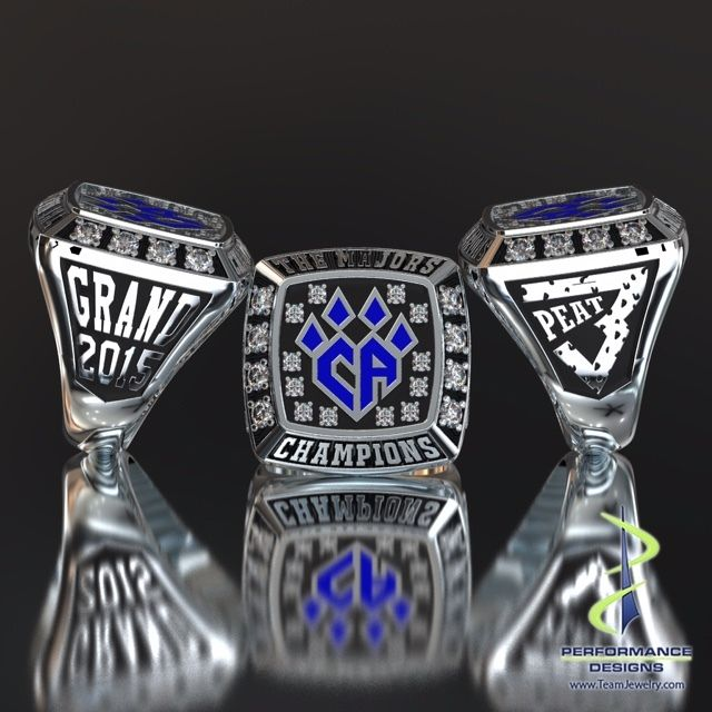 Cheer Athletics Cheetahs 2015 The Majors Grand Championship Ring
