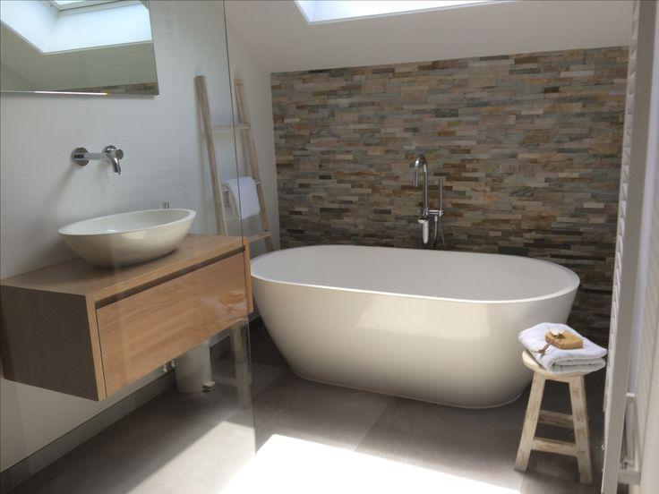 Vrijstaand bad, badkamers,