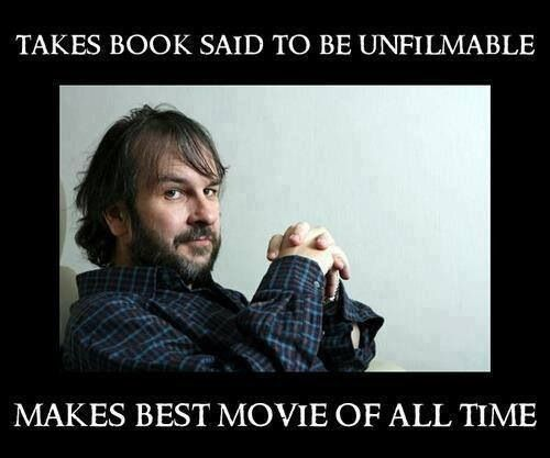 Thank you, Peter Jackson. Thank you for taking the greatest books of all time and making them a reality. Thank you for pretty much my entire childhood. Thank you for everything, Mr, Jackson. Truly, thank you.