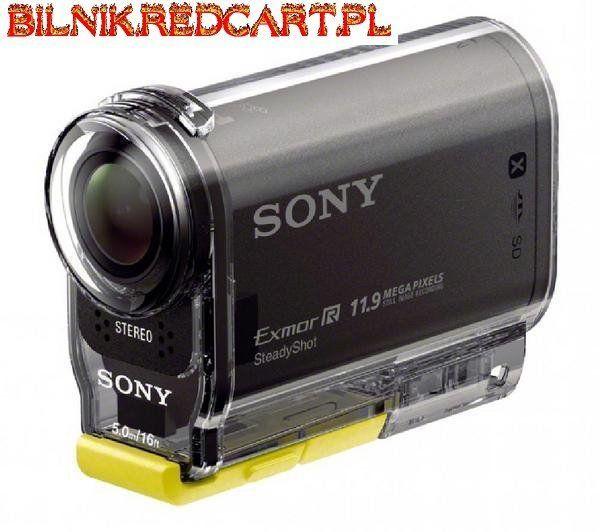 Kamera HDR-AS30V Sony została stworzona z myślą o sportowcach i miłośnikach przygód. Jest dostarczona z szczelną obudową, dzięki której możesz z niej korzystać do głębokości nawet 5 metrów! Ponadto jest dostarczona z 3 uchwytami do mocowania np. na desce surfingowej czy tez kasku.HDR-AS30V posiada 16 megapikselowy sensor CMOS i jest zdolna do nagrywania w jakości Full HD. Poza tym HDR-AS30V zawiera liczne filtry oraz tryb HD