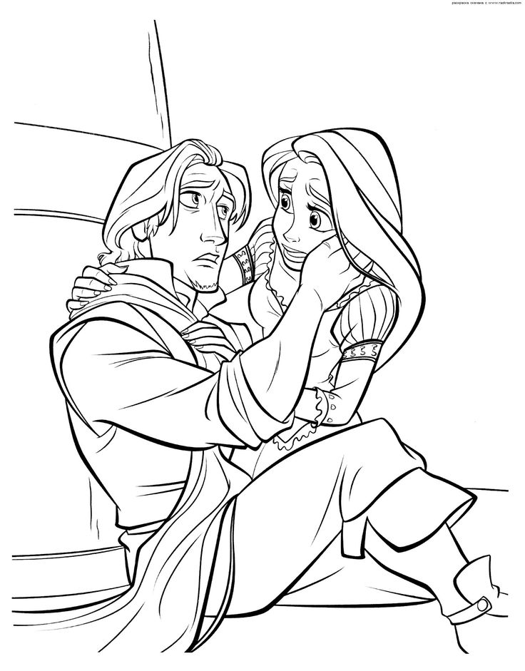 146 Best Kolorowanki Images On Pinterest Drawings Coloring - tangled coloring pages pdf