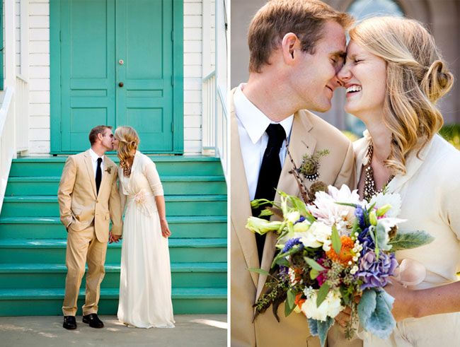 Marci + Redge's Colorful Real Wedding | Green Wedding Shoes Wedding Blog | Wedding Trends for Stylish + Creative Brides