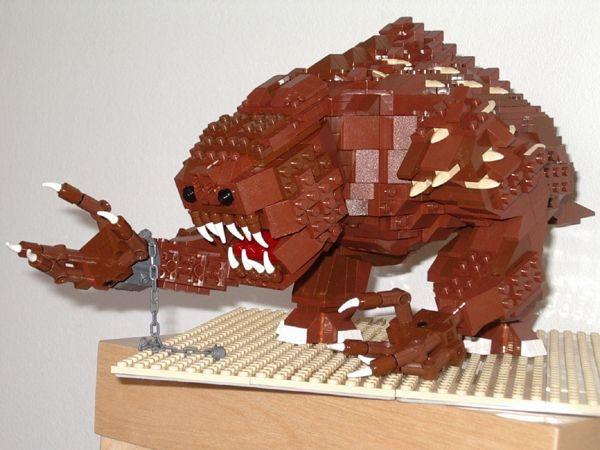 Lego Rancor Return Of The Jedi