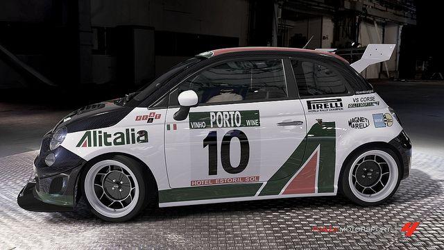 Fiat Abarth 500 Alitalia