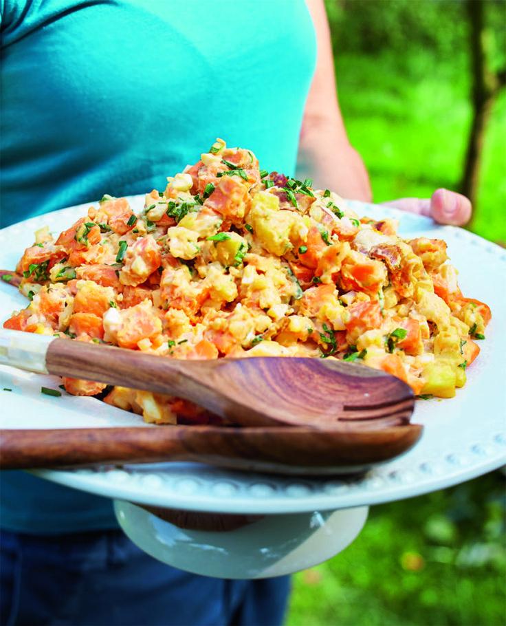 Zoete-aardappelsalade