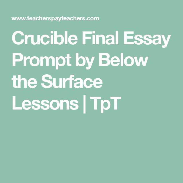 scarlet letter crucible essay prompts The crucible and the scarlet letter are two exceptional books that deal with the issue of guilt the crucible portrayed to be a modern play written by arthur miller based on a true story, of the salem witch trials of 1692.