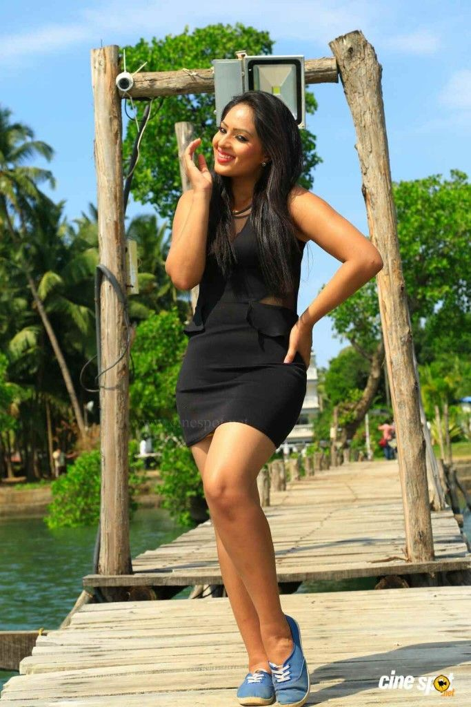 Super cutie Nikesha Patel in a little black dress and sneakers. ...  #NikeshaPatel