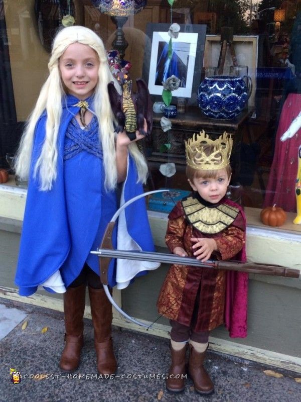 adorable game of thrones costumes - Dragon Toddler Halloween Costume