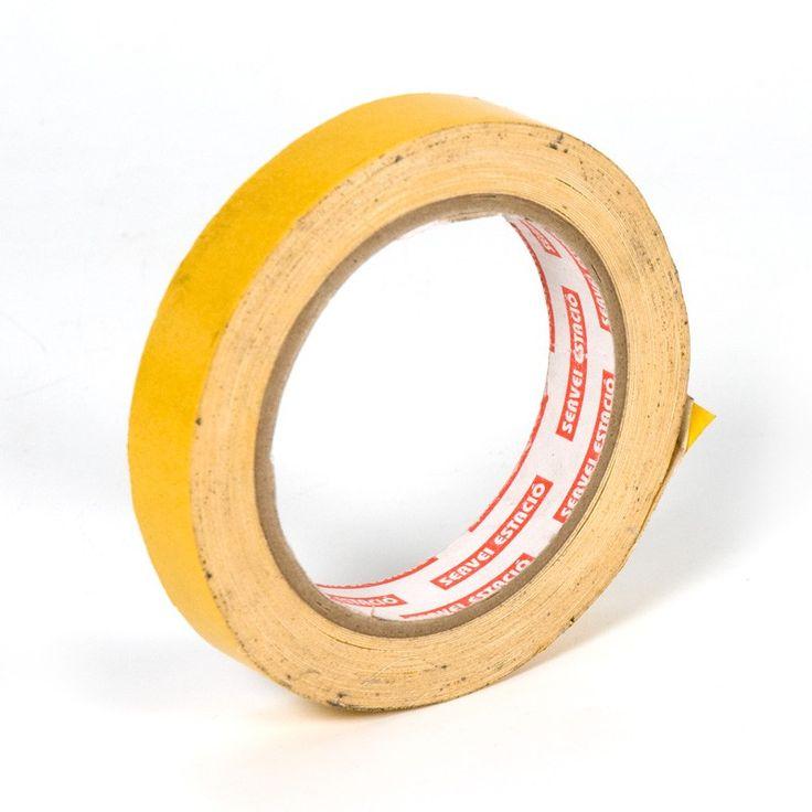 Cinta adhesiva doble cara tejidos - Cinta adhesiva de doble cara tejidos indicada para encuadernación, enmarcación y todo tipo de manualidades y acabados. 10 mm de ancho x 19 metros de largo.