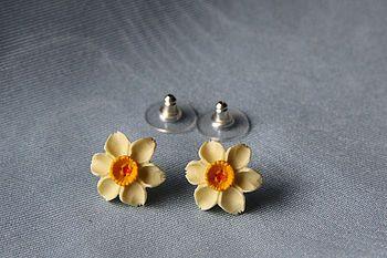 Daffodil Stud Earrings