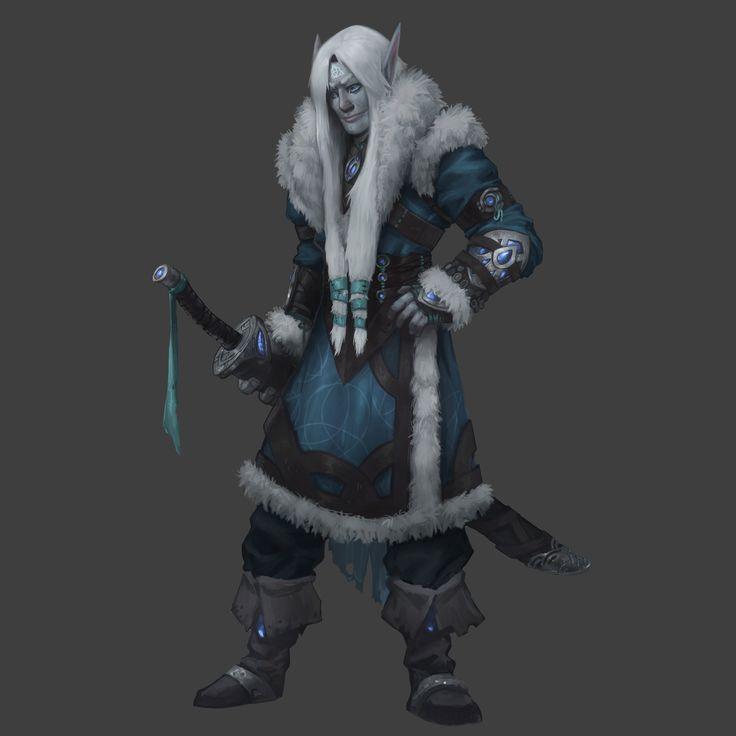 ArtStation - Winter fey lord, Geraud Soulie