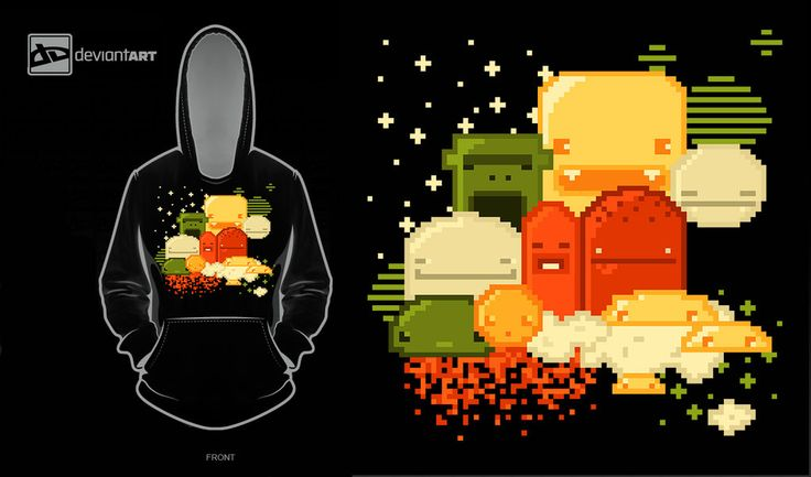 i want a pixel clothe