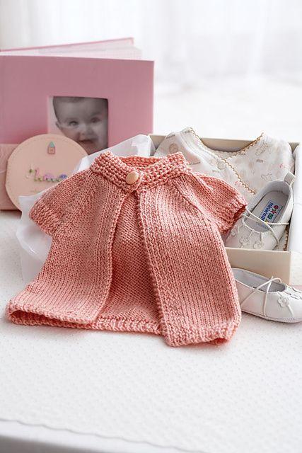 Chaqueta para bebé, a calceta by Dorina Favit Gilmore