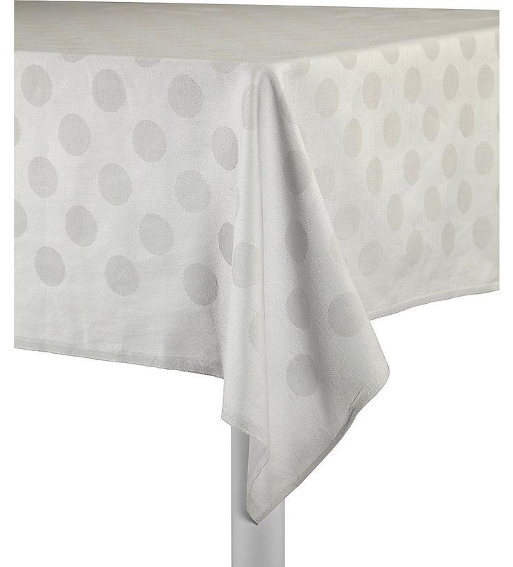 HAY - Dotted grey tablecloth | Selfridges.com