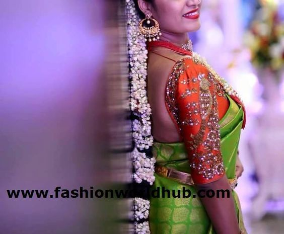Here are couple of designer wedding blouses. You can reach to their wats up no – 9885909824for cost of each blouse. All maggam work blouse designs are really outstanding . Tell your budget they will deliver the best designs within your budget their designs starts from 1500Rs . Also readElbow length blouses.Top Maggam work blouse designs.Prabha blouses What ever is the type of saree whether it is kanchipuram,uppada pattu,silk saree, chiffon,georgette,60 grams saree it is the blouse…