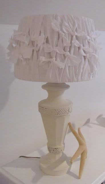 DIY ~ Pillowcase Lamp Shade