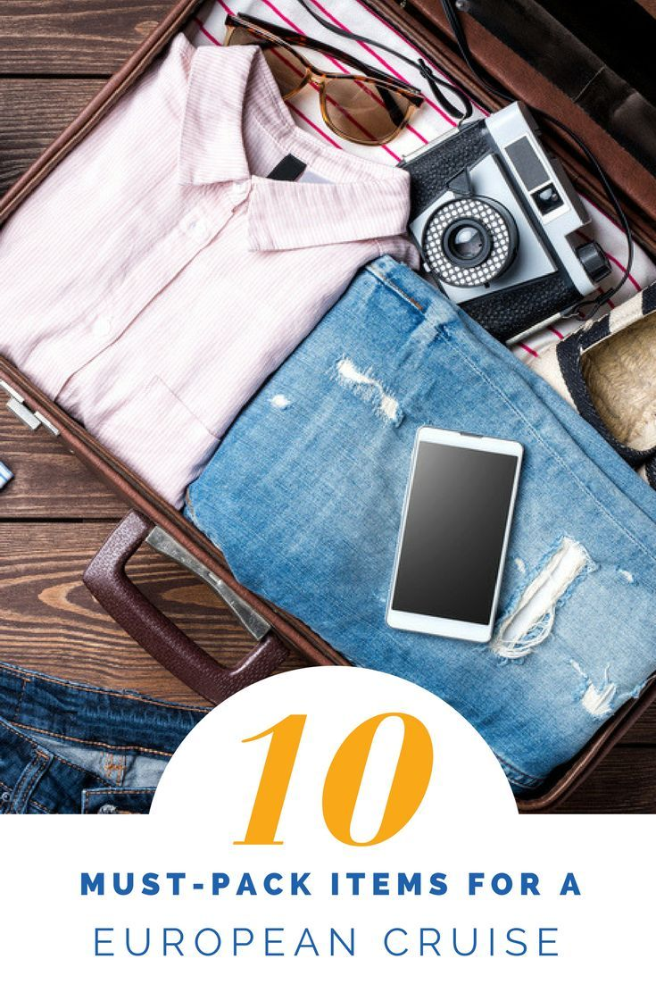 Here's a list of the top 10 things you can't leave without before