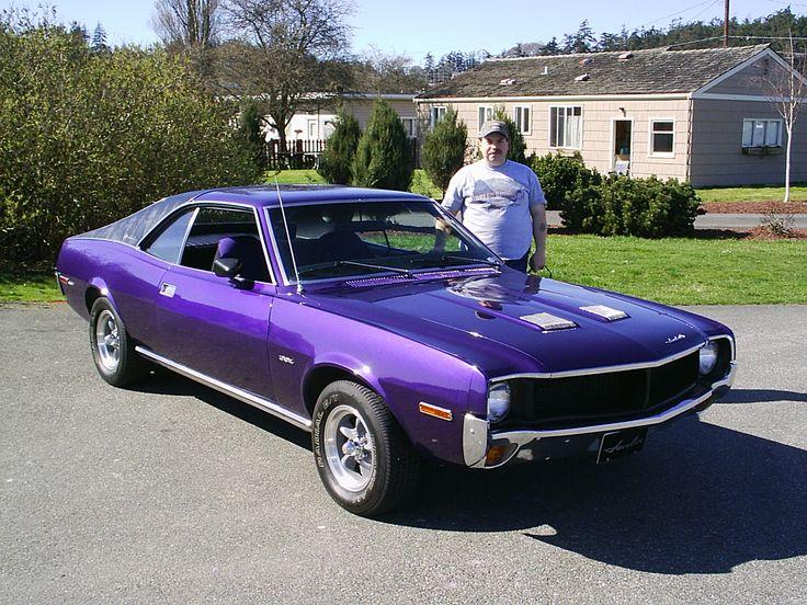 amc javen sst purple people movers amc javelin american motors muscle cars