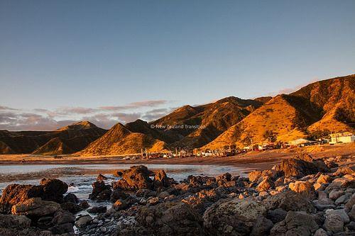 140417 sunset ngawi beach