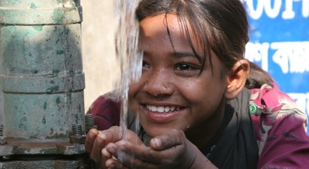 Clean water is a human right!