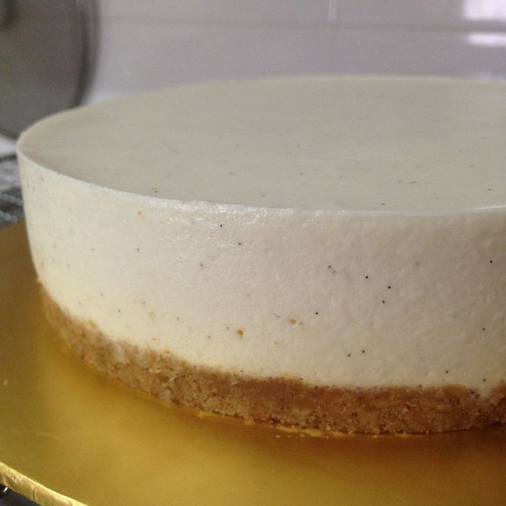 No bake tofu cheesecake