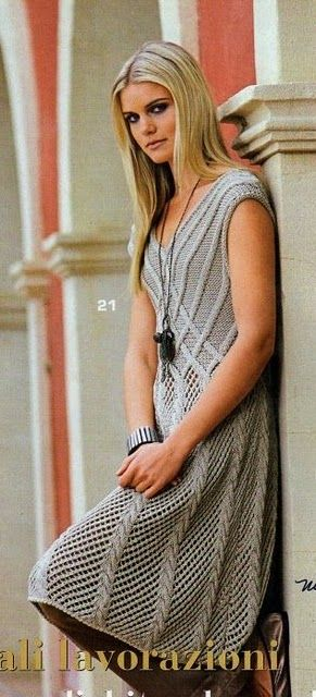 Garden lattice dress