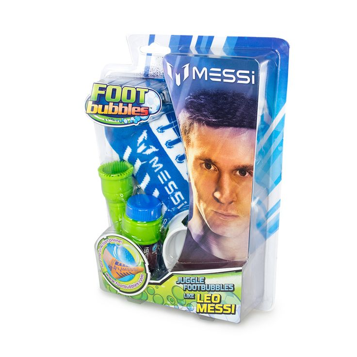 Messi Foot Bubbles Starter Pack - Assorted