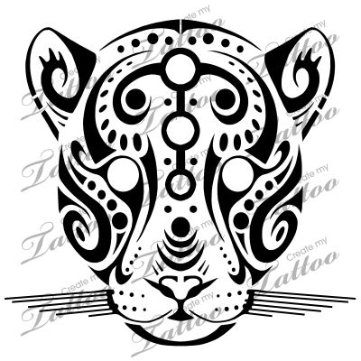 marketplace tattoo tribal jaguar 14846 createmytattoo