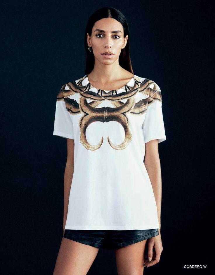 CORDERO white t-shirt