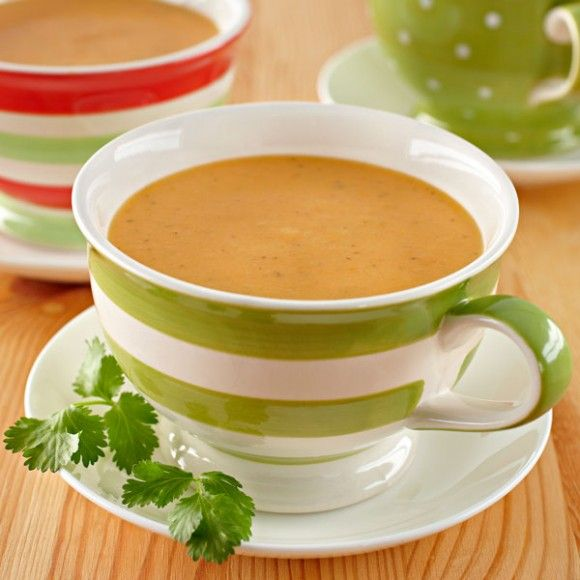 Spiced Sweet Potato and Apple Soup