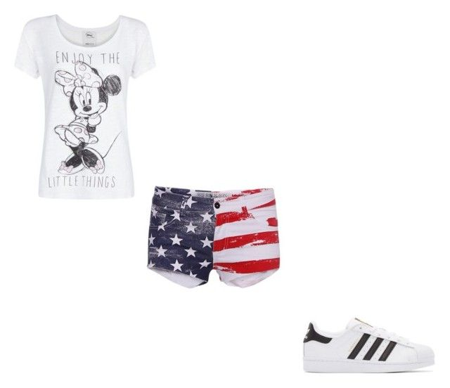 """#379"" by aureeliet on Polyvore featuring MANGO, Religion Clothing and adidas Originals"