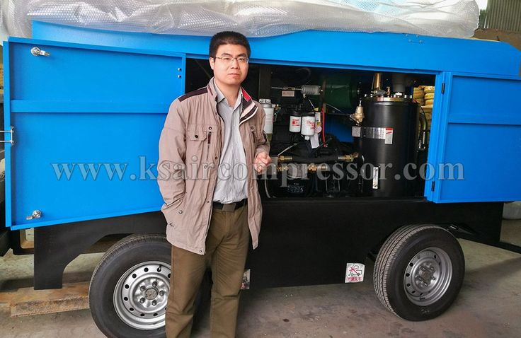 Our BKCY Type Diesel air compressor, portable compressor