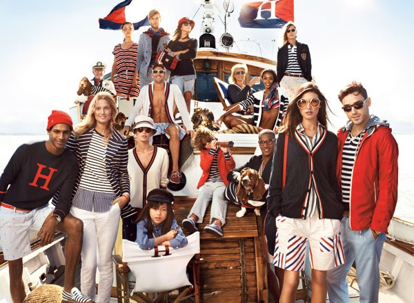 Tommy Hilfiger, will you and your beautiful family adopt us?