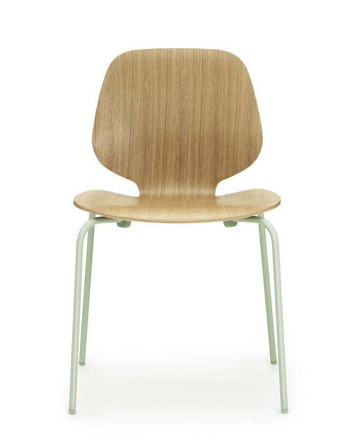 MY CHAIR chaise chêne et Vert