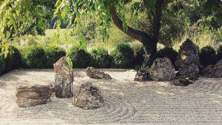 Návštěva japonské zahrady mezi vinicemi ve Francii. Krása. #zen #garden #borja #France #trips #calm #relaxingtime