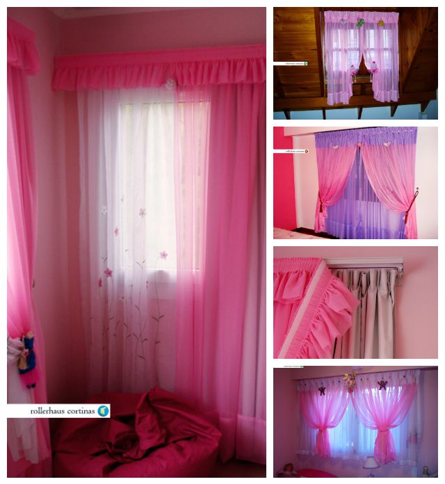 Hermosas cortinas para las princesas. https://www.facebook.com/rollerhauscortinas Asesoramiento y presupuestos en rollerhauscortinas@outlook.com