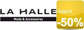 Une sélection de vêtements jusqu'à -40% sur Lahalle.com