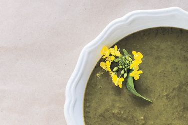 Leafy greens soup
