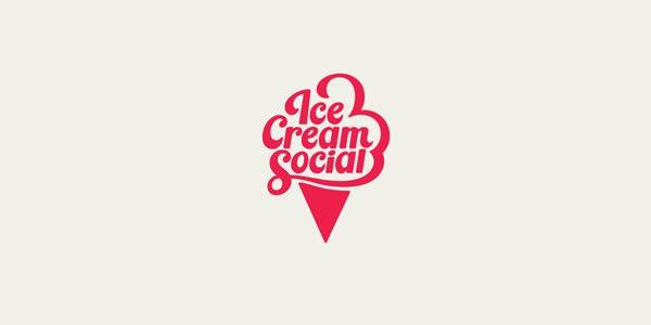 30 Ice Cream Logo Designbeispiele für Inspiration   – Ice Cream