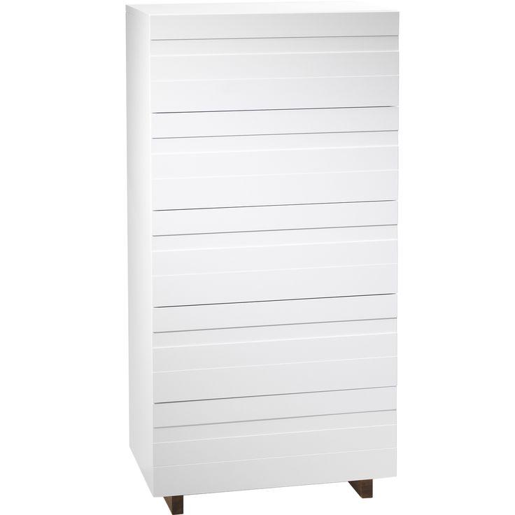 White byrå, 126 cm i gruppen Möbler / Förvaring hos RUM21.se (111710)