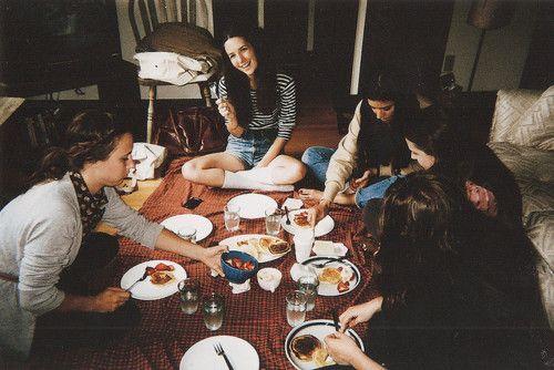 Indoor picnic.