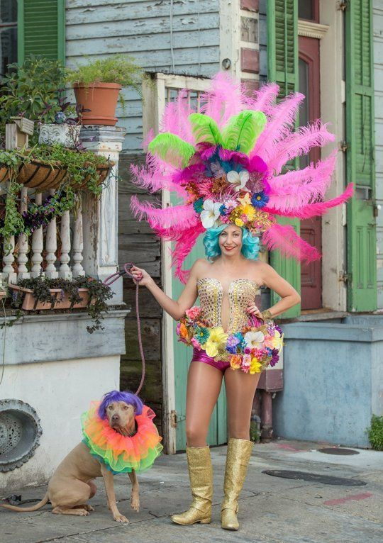 Happy Mardi Gras! Kerry's Dramatic New Orleans Costume Style — SPECIAL STYLE PROFILE