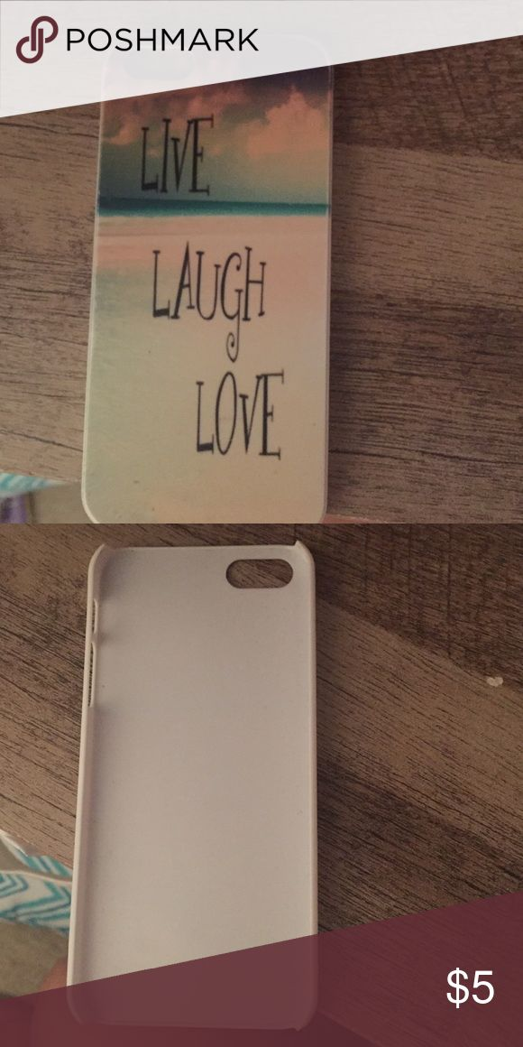 iPhone 5s cover iPhone 5s cover! Live Laugh Love Accessories Phone Cases