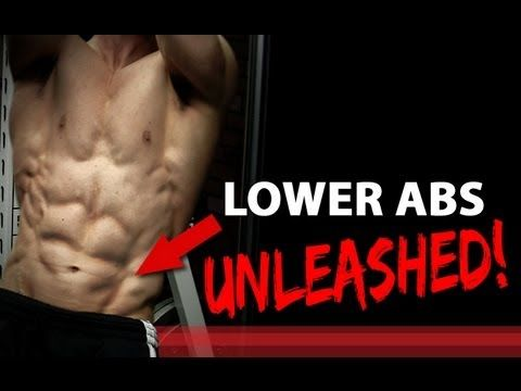 LOWER ABS UNLEASHED - 3 Exercises! (V-CUT Abs) - YouTube