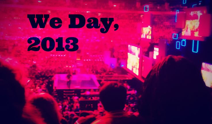 We Day, 2013