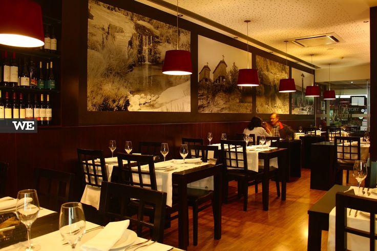 Interior do Restaurante Trota's